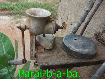 Moinho(máquina de moer milho)