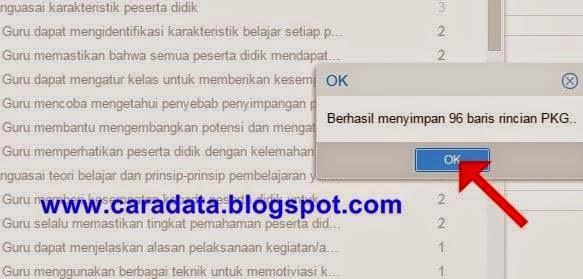 klik ok