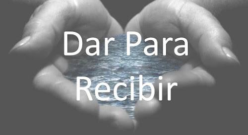 Reflexión De Dar Para Poder Recoger