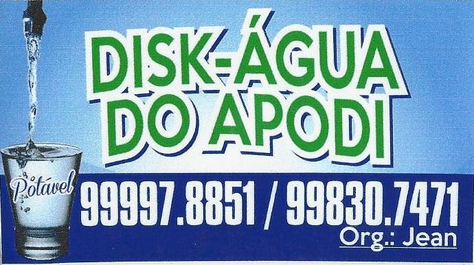 Disk-Água do Apodi