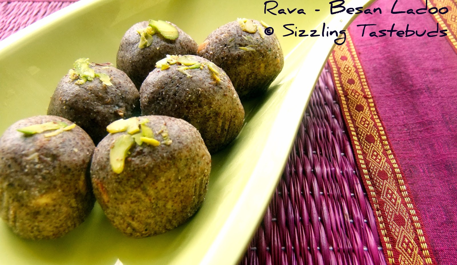 Finger millet and gram flour sweet