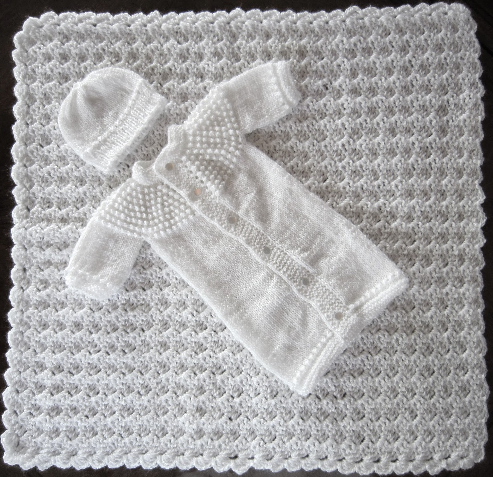Sea Trail Grandmas: FREE CROCHET BLANKET PATTERN CHRISTENING OR ...