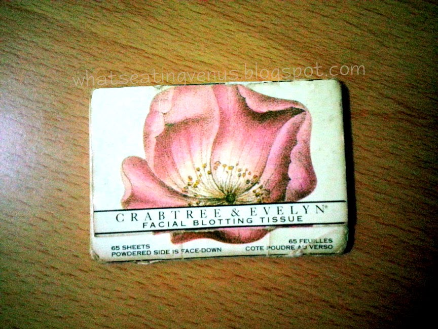 crabtree & evelyn facial blotting tissue, crabtree & evelyn oil blot review, crabtree and evelyn how much, crabtree & evelyn philippines