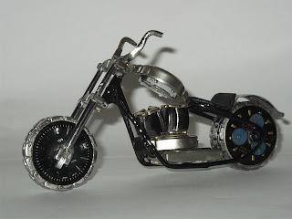 Decoração bar moto