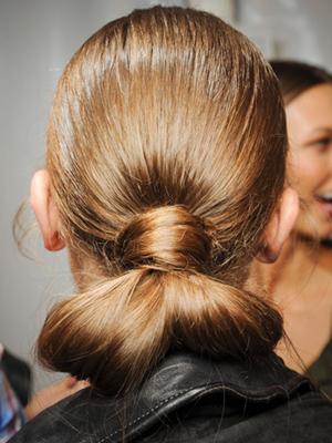 peinados rodetes recogidos