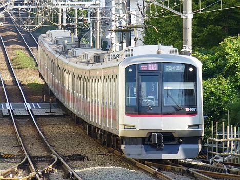 東急東横線 通勤特急 元町・中華街行き 5050系