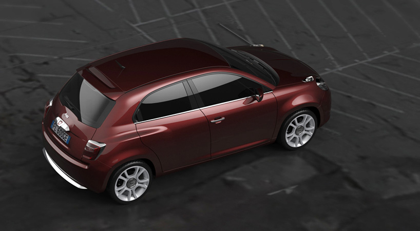 New Fiat 600 Design Concept For A Punto Replacement Carscoops Com