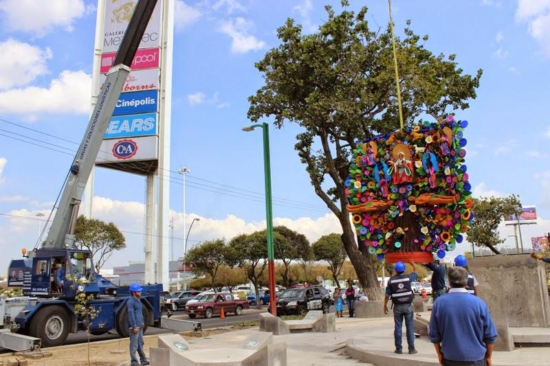 Metepec blogoficial colocan g nesis el rbol de la vida for Arboles altos para jardin