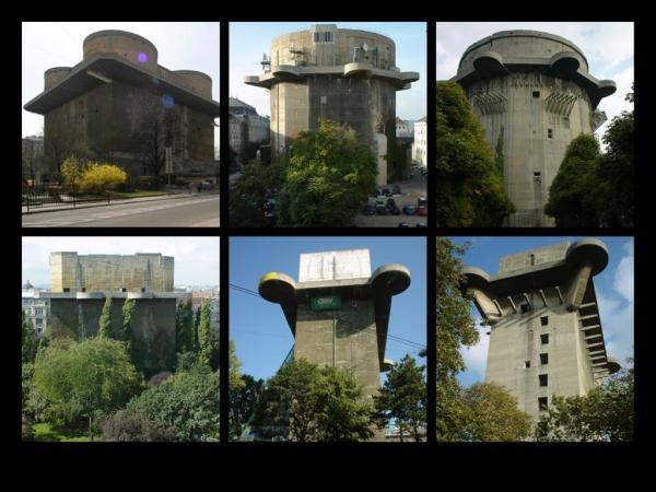 Flaktürme Menara anti peluru jerman