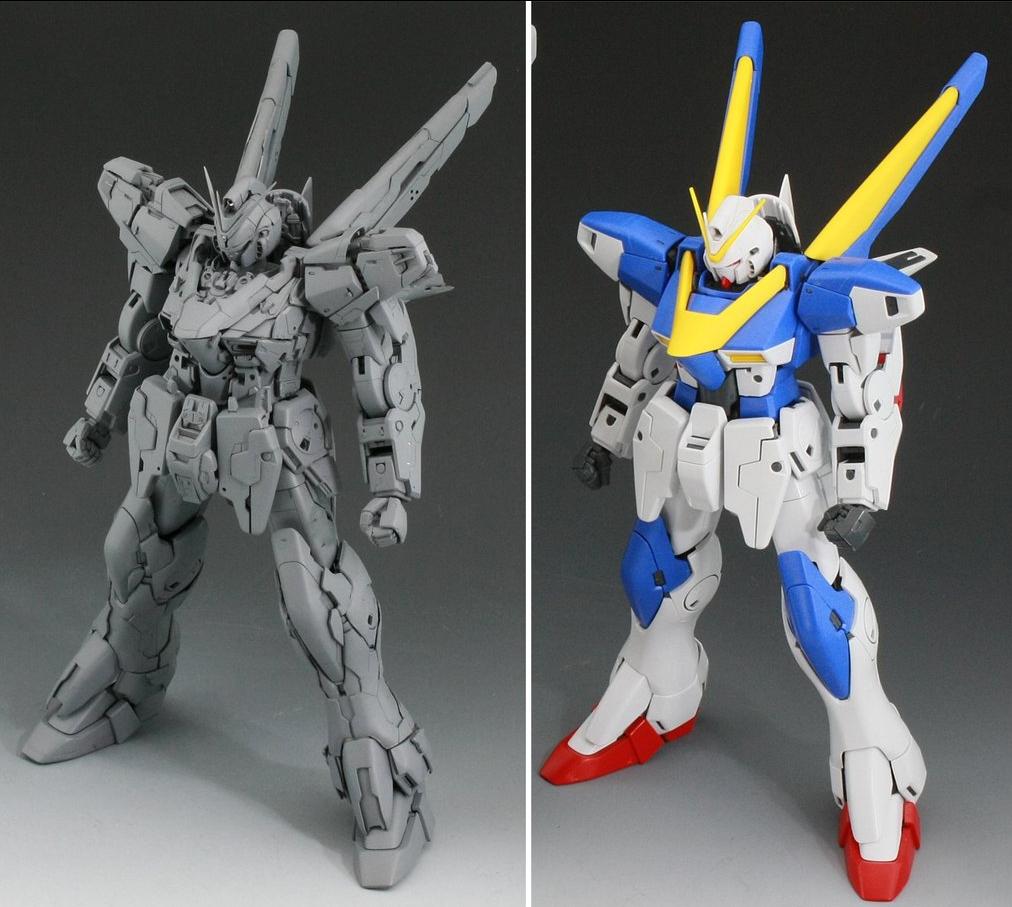 V2: GUNDAM GUY: MG 1/100 V2 Gundam Ver. Ka