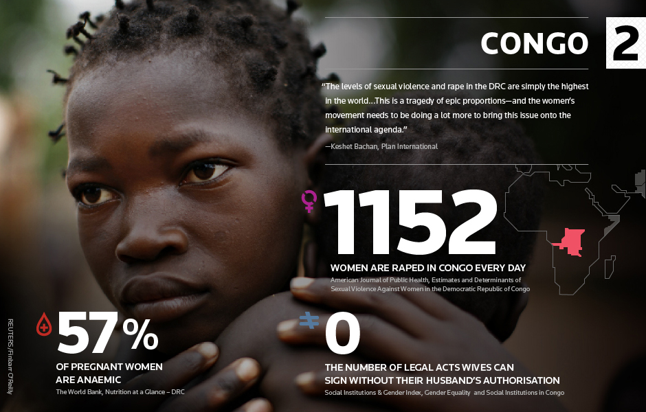 rape in congo The democratic republic of congo (drc) has been dubbed the rape capital of the world [sexual violence] it's become a weapon of war in eastern congo, used by soldiers and rebels, sometimes.