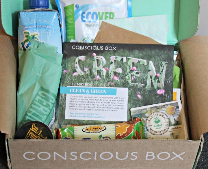 Conscious Box Plus (Vegan Edition) May 2014