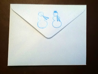 You can't have a fancy card without a matching cute envelope... [back]