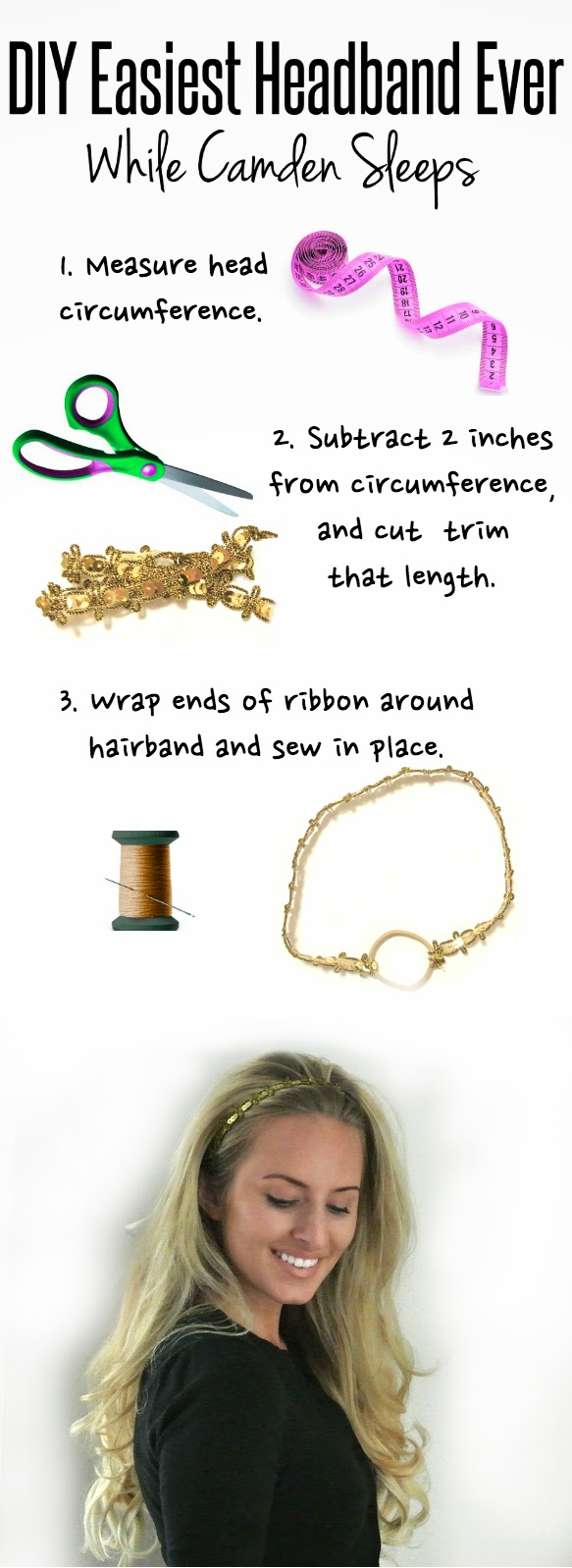 Super easy tutorial to create a headband.  This site has tons of great ideas!