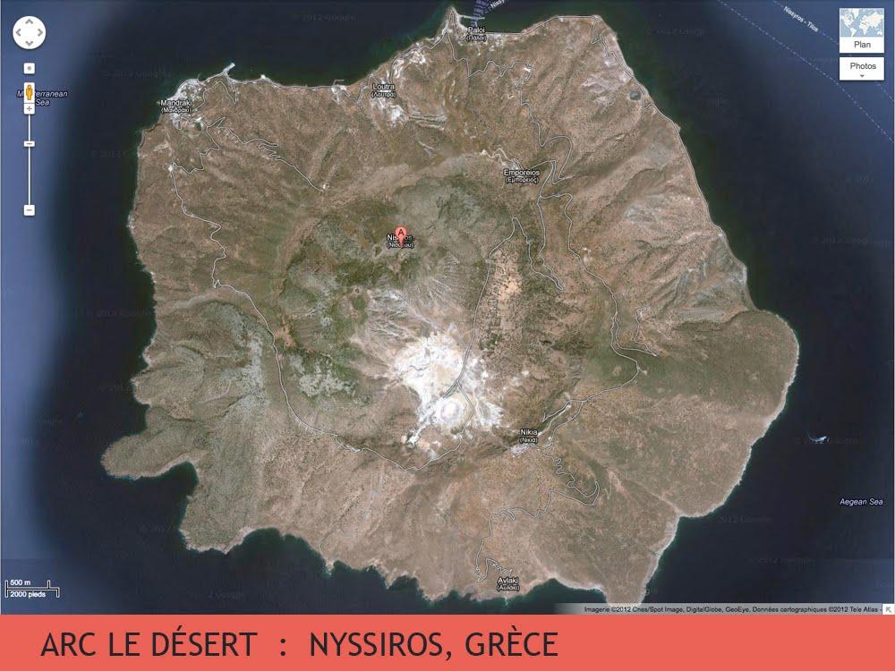 Nyssiros, le désert