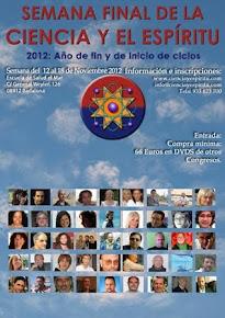 15 NOVIEMBRE - SEMANA DE LA CIENCIA Y EL ESPÍRITU- CON LA PONENCIA DE VIRGINIA DANGMA