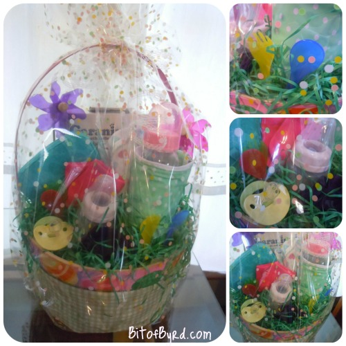 Bit of byrd baby shower gift baskets this is the easter gift basket i talk about in the vlog below negle Gallery