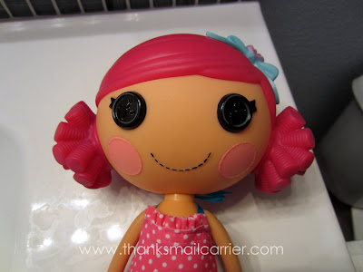 Lalaloopsy Mermaid pink hair