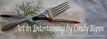 Art in Entertaining - Cindy Rippe