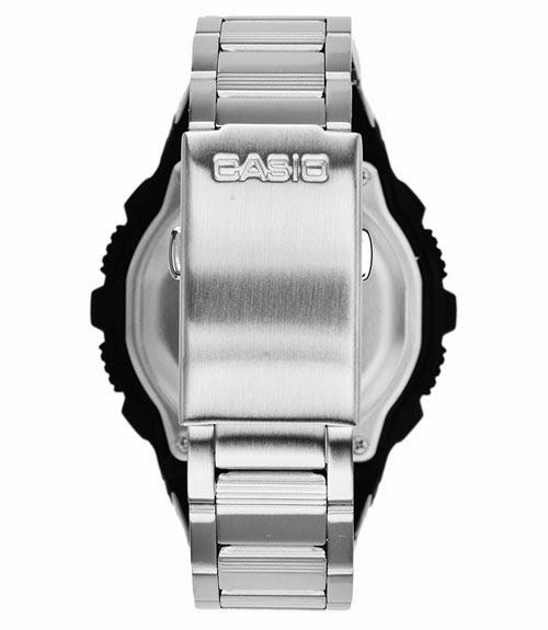 Casio Jam Tangan AE 2000 WD 1 avdf Silver