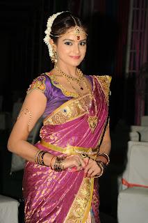 Asmita Sood in Telugu Bridal Attire 003.jpg