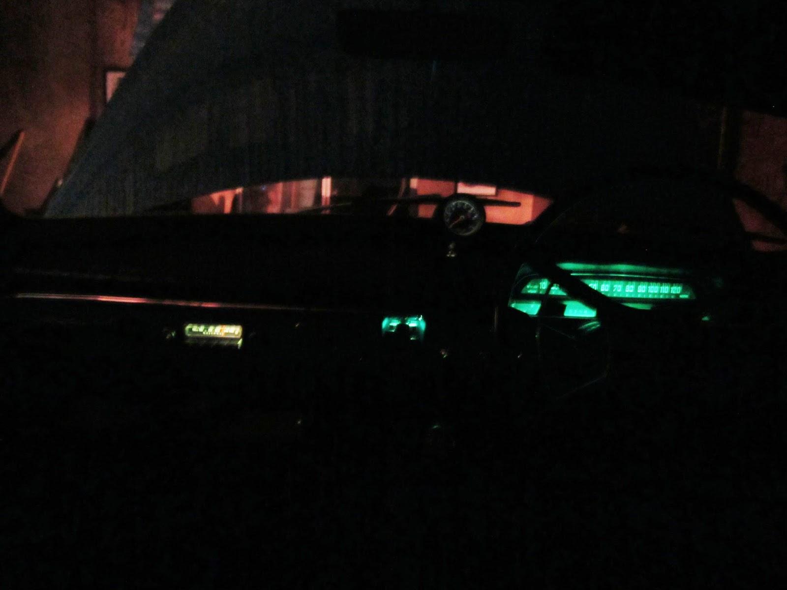 Dashboard lights Volvo Amazon
