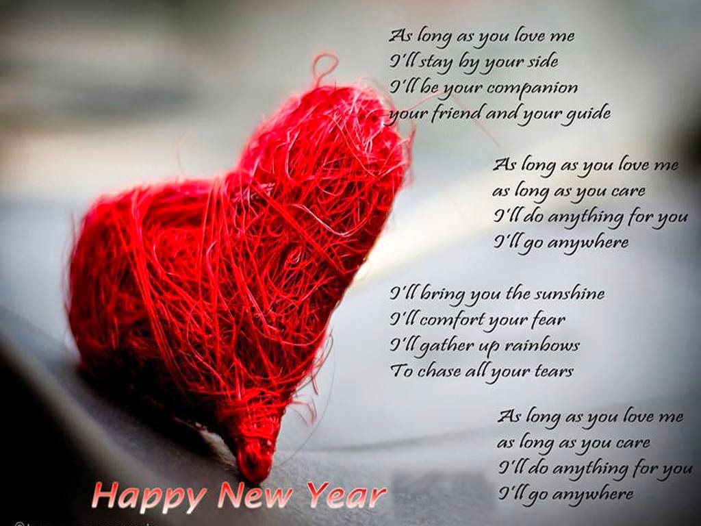Happy New Year Love Poem With HD Wallpapers - HD Wallpaper ...