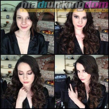 Rilee+Marks Foto: 12 Artis Porno Sebelum dan Sesudah Make Up