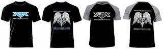 FM T-shirts Heroes & Villains