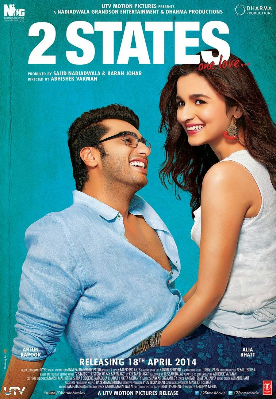 2 States (2014) Mp3 Songs Free Download