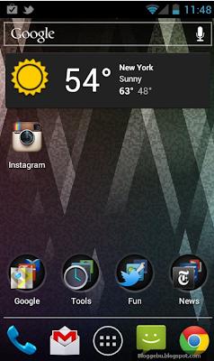 instagram untuk android 1 klik pada ikon instagram di layar