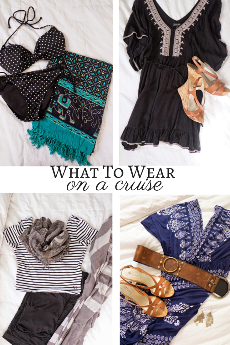 Domestic Fashionista What To Wear On A Cruise Women S