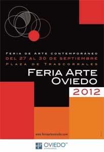 Cartel de María Braña para la Feria de Arte 2012
