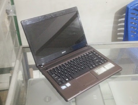 jual laptop bekas acer aspire 4738z