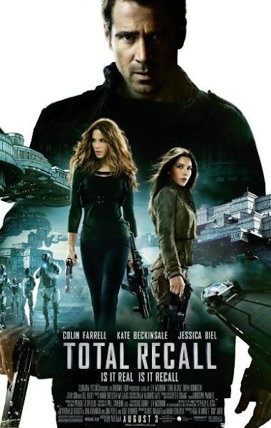 Poster Of Total Recall 2012 EXTENDED 720p BluRay Dual Audio