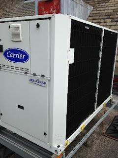 Carrier installation at Birmingham Childrens Hospital