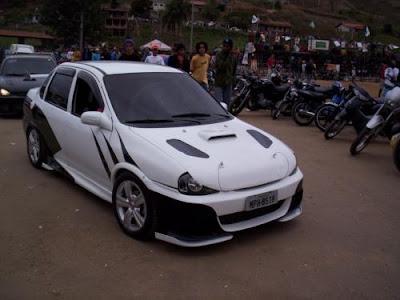 Corsa sedan Tuning 2012