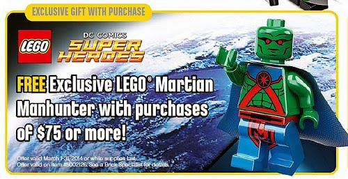 LEGO calendar March 2014