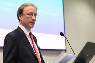 Chris Pook, Deputy Director of Green Economy, at the Department of Business Innovation and Skills (BIS)