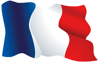 France Flag - Tricolor Flag of French