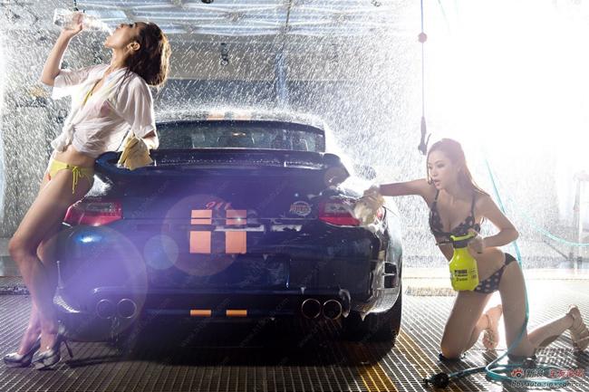 artis bugil hot cewek seksi tukang cuci mobil basah basahan