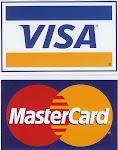 Use VIsa e Mastercard