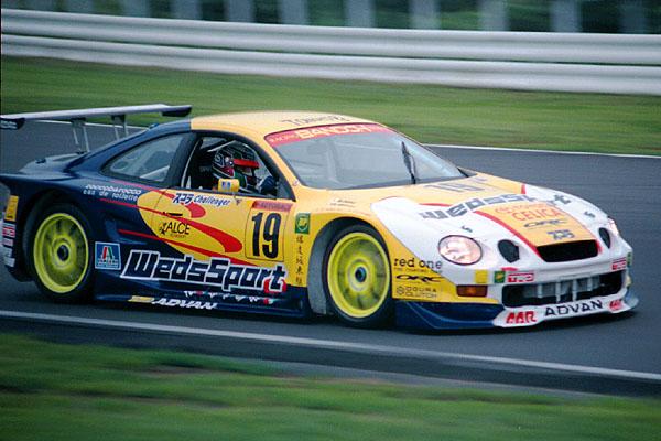 Toyota Celica T200, JGTC, Super GT, racing, wyścigi, Racing Project Bandoh, WedsSport, 90s