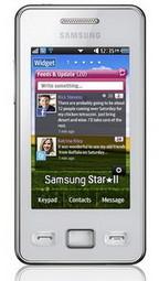 Samsung Star II S5260 announced