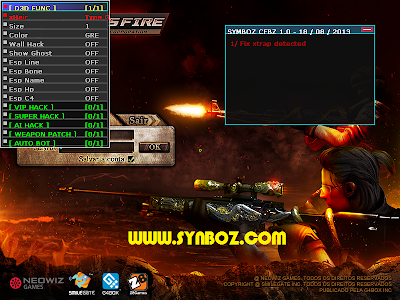 SynBoz full functions working for all crossfire
