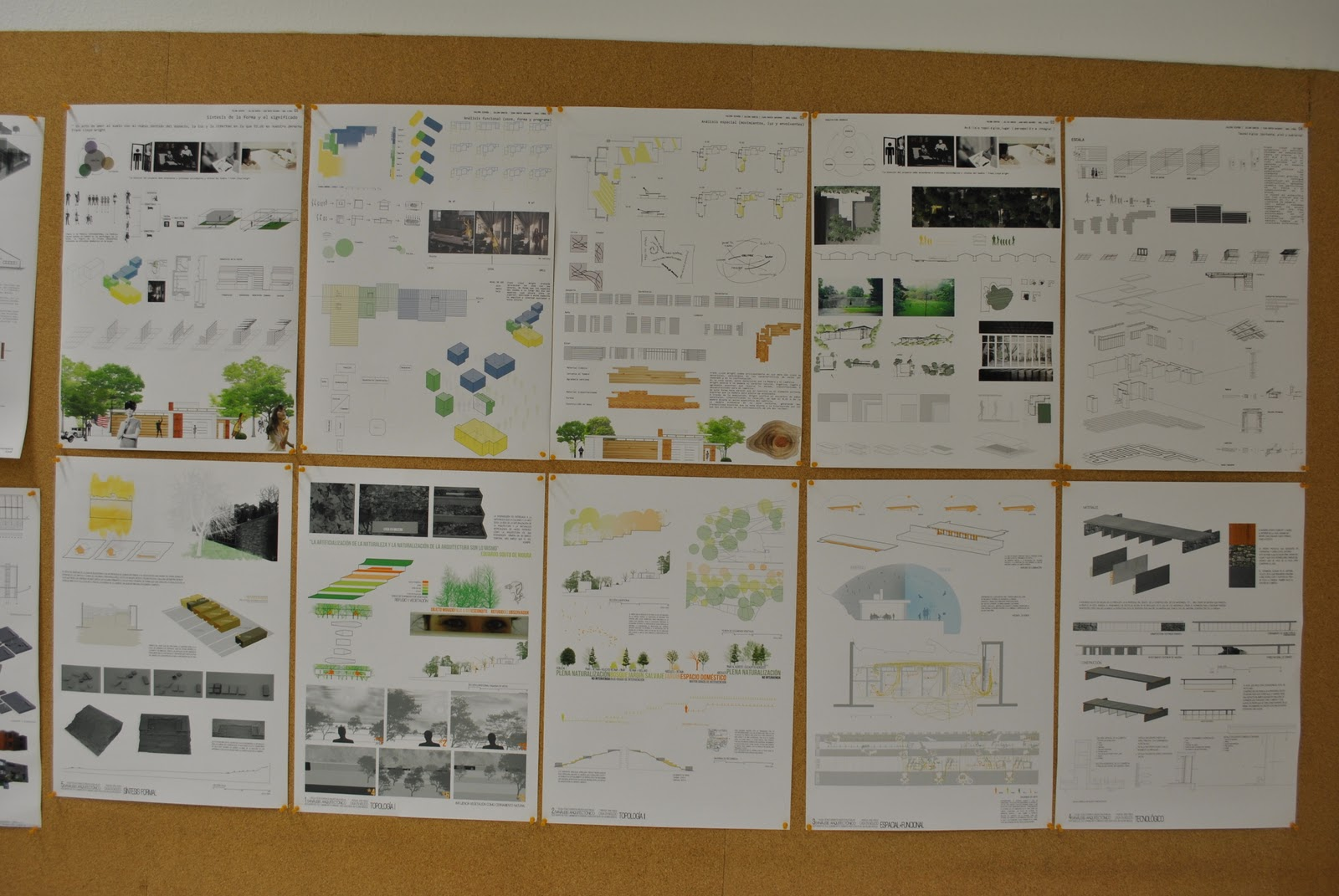 Sk studio ets arquitectura m laga analisis arquitect nico viviendas expresion gr fica - Ets arquitectura malaga ...