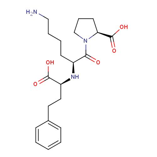 Struktur Lisinopril (Lisinoprilum)