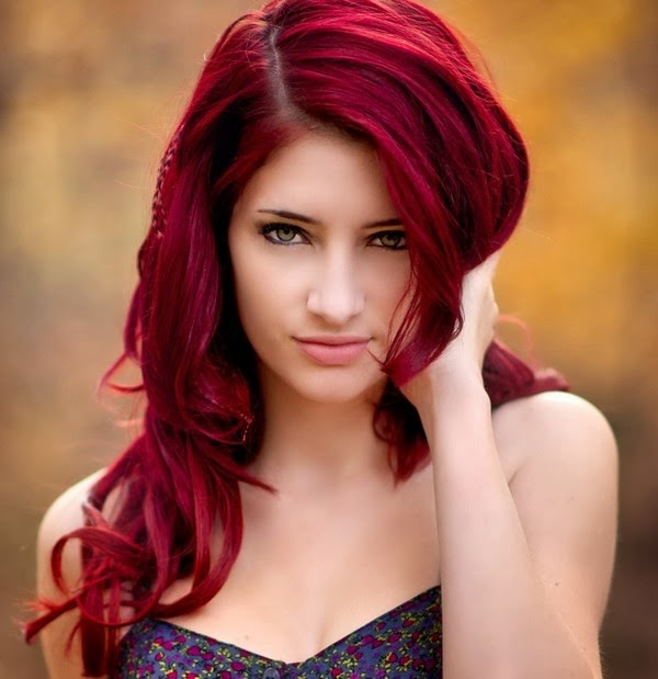 Best Red Highlights For Dark Brown Hair The Red Highlights Dark Brown