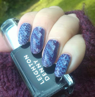 Vivid Lacquer VL 025 and Leighton Denny Really Royal