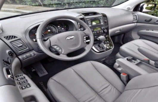 Interior New KIA Carnival 2014